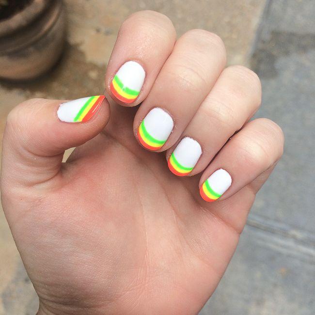 Celebrity Nail Salon: Nell Diamond's Manicure