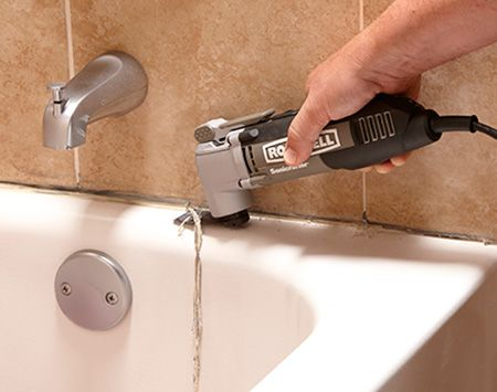 How To Caulk A Shower Or Bathtub House Cleaning Tips Cleaning Painted Walls Cleaning Hacks