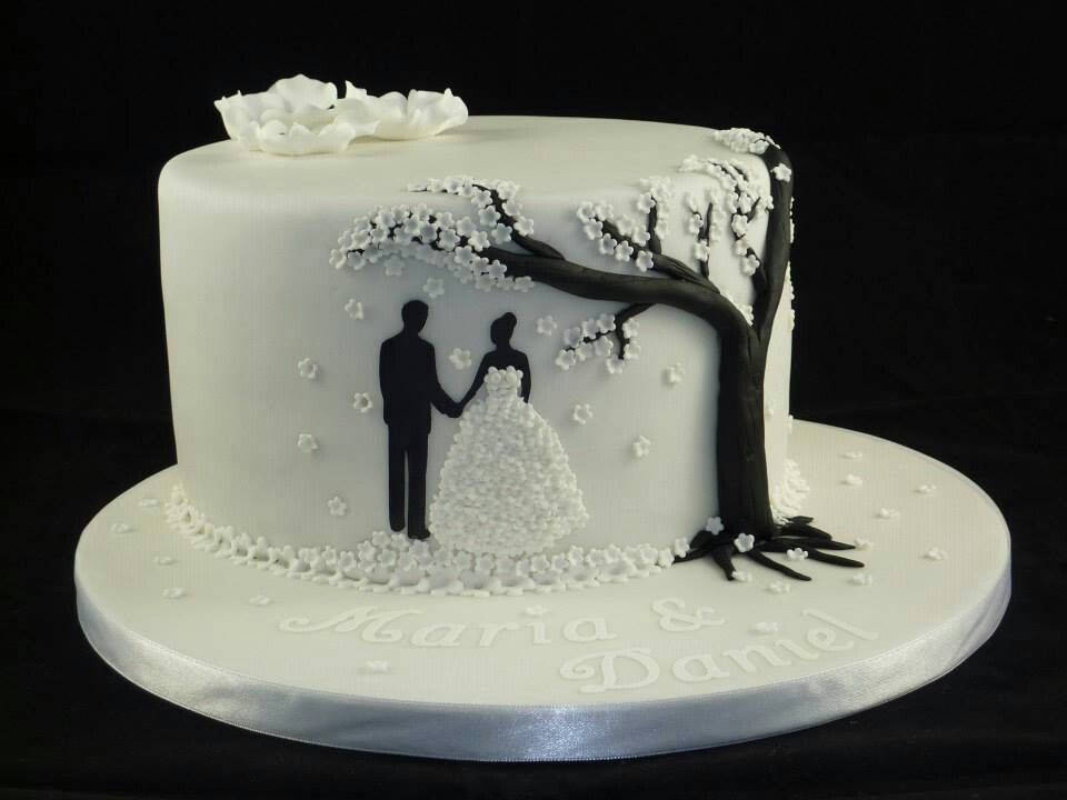 Kleine Hochzeitstorte Fondant Pinterest