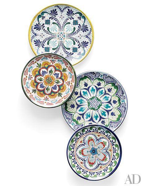 Veracruz Blue Melamine Dinnerware Collection Williams Sonoma