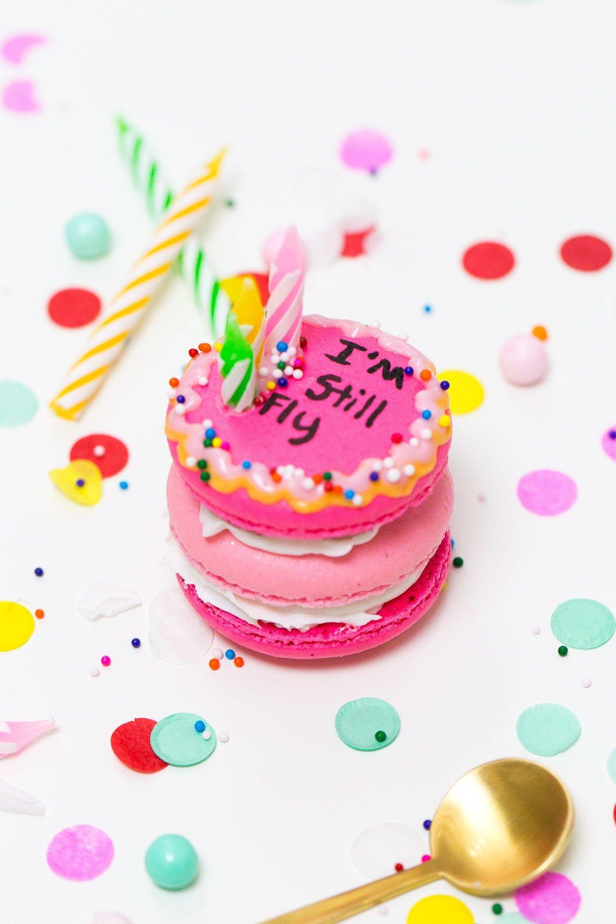 Because Drake On Cake Inspired Birthday Cake Macarons Just Needed To