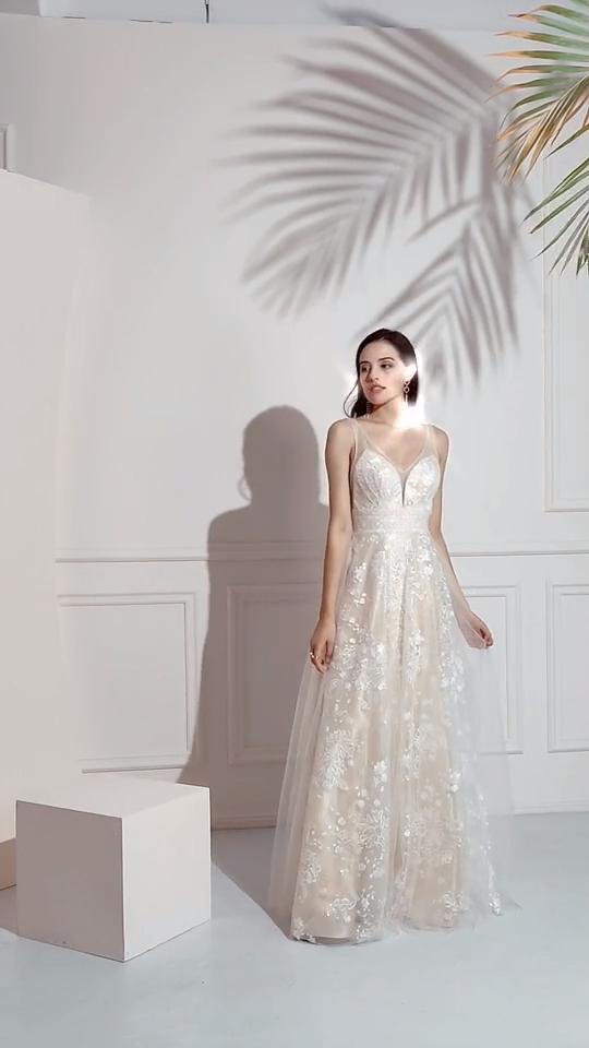 Pearl Pink Lace Prom Dress -   17 prom dress Korean ideas