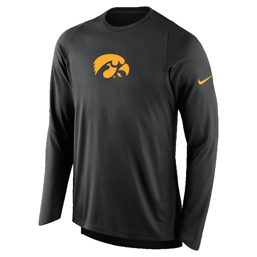 Nike College Elite Shooter Iowa Men s Long Sleeve