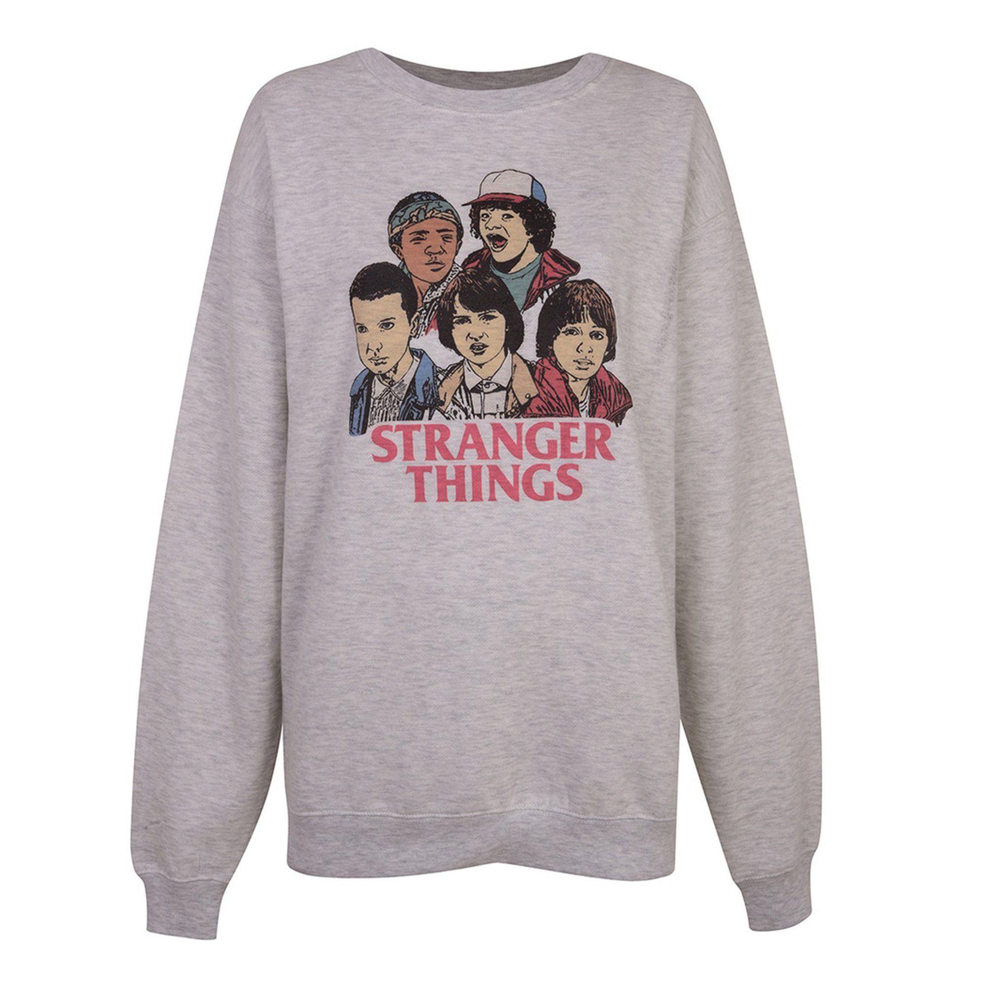 Sweatshirt Top Shop X Stranger Things Ropa De Galaxias Ropa H M Ropa Preadolescente [ 2000 x 2000 Pixel ]