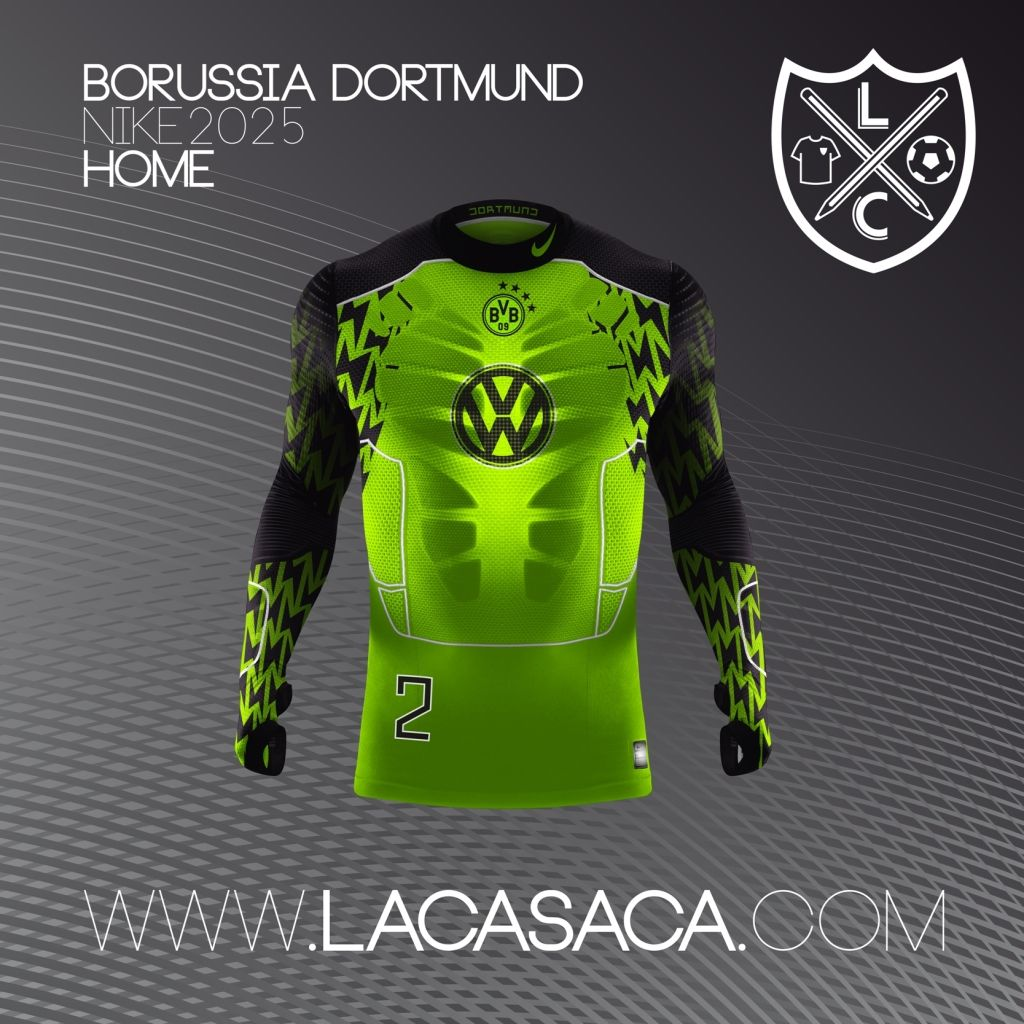 Nike 2025 Fantasy Kits - Dortmund Home  a367b258da5