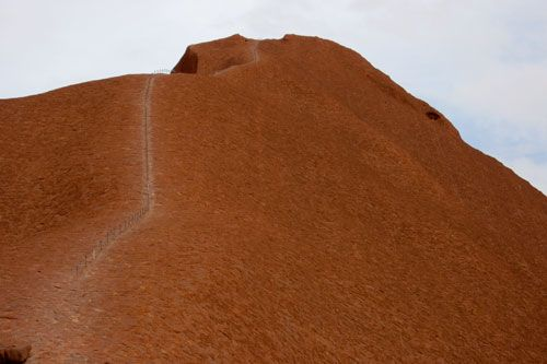 Uluru spadła z Marsa