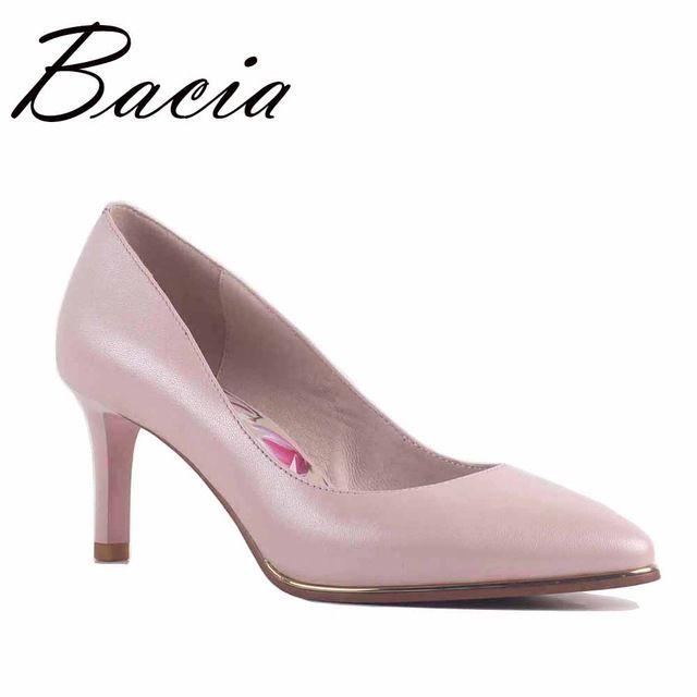 Price Drop $54.58, Buy Bacia NEW Patent Leather & Sheepskin Pumps 8 colors  6.8cm