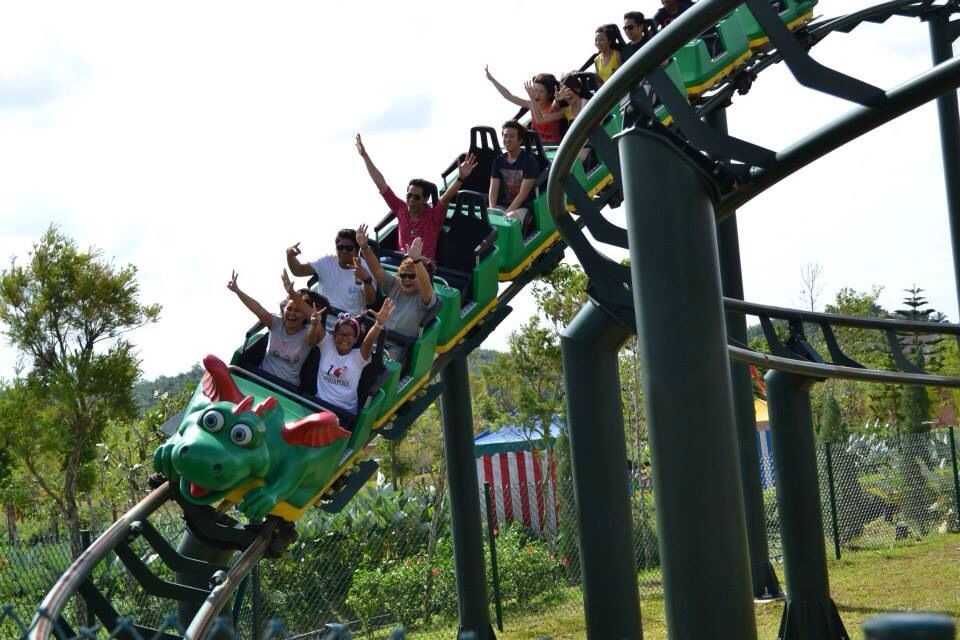 roller coaster ride @ LEGOLAND, Malaysia (With images ...