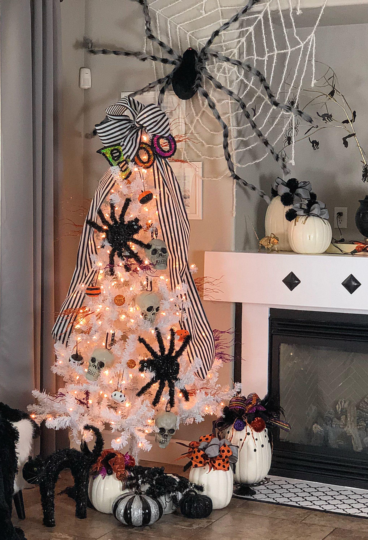 Sounds Of The Seasons Halloween 2020 Start Date Dollar Store Halloween Tree!! On my! Let the Halloween season