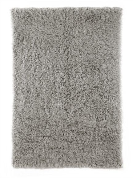 Gray is a versatile neutral hue that can translate into any kid's bedroom or nursery, making the Flokati Plus Rug in Natural Grey the perfect choice for decorating your child's space!