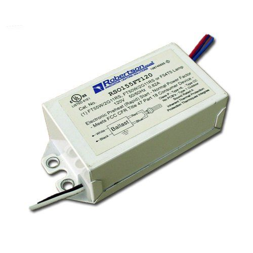 Robertson Worldwide Rso155ft120 Electronic Ballast For 50 Or 55w Cfl Or 54w T5 Click Image To Review More Details Ballast Cfl Electronics