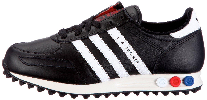 cb5d15d4eaad7 Adidas LA Trainer Black White: Amazon.co.uk: Shoes & Bags | sneakers ...