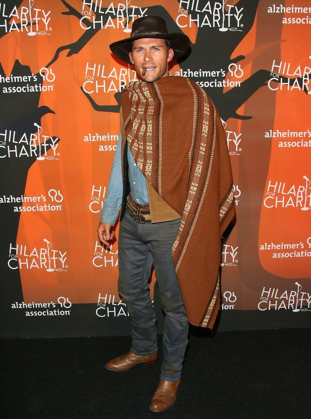 Scott Eastwood Tried To Make Dad Proud With This Halloween