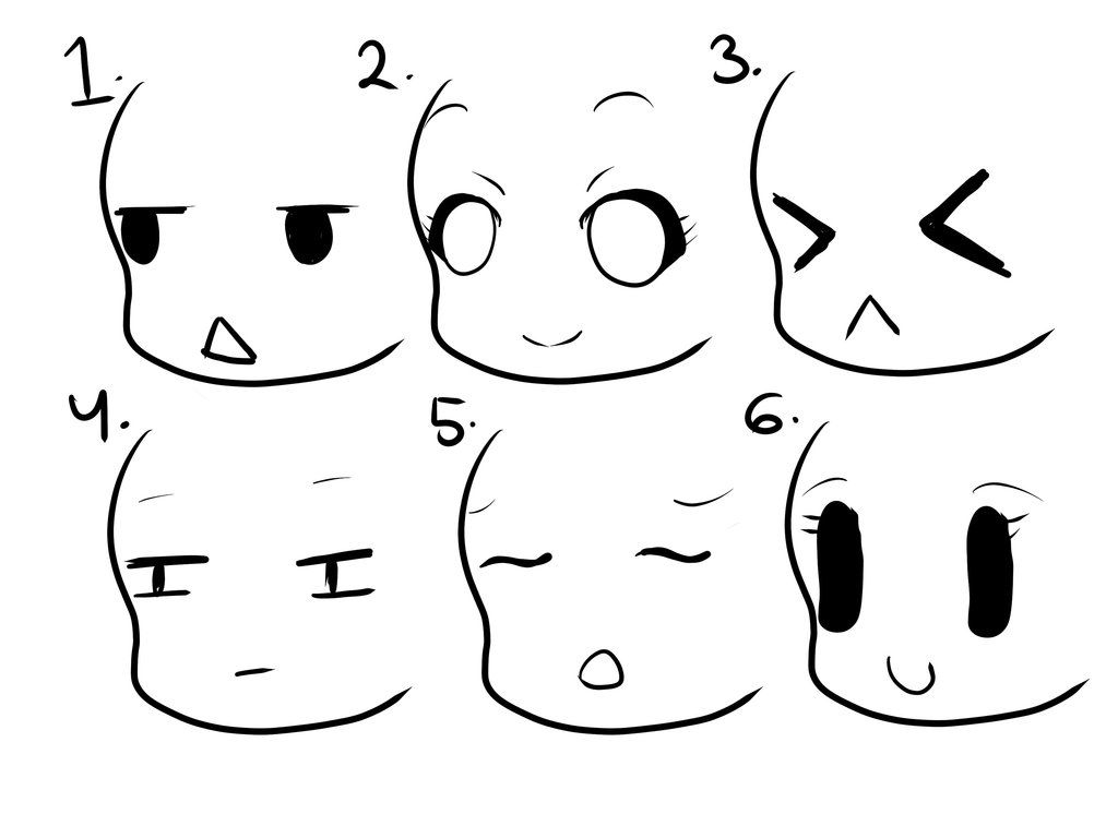 6 Kind Of Chibi Eyes And Mouths By Yummyluvpancake007 Deviantart Com On Deviantart Chibi Eyes How To Draw Anime Eyes Chibi Drawings