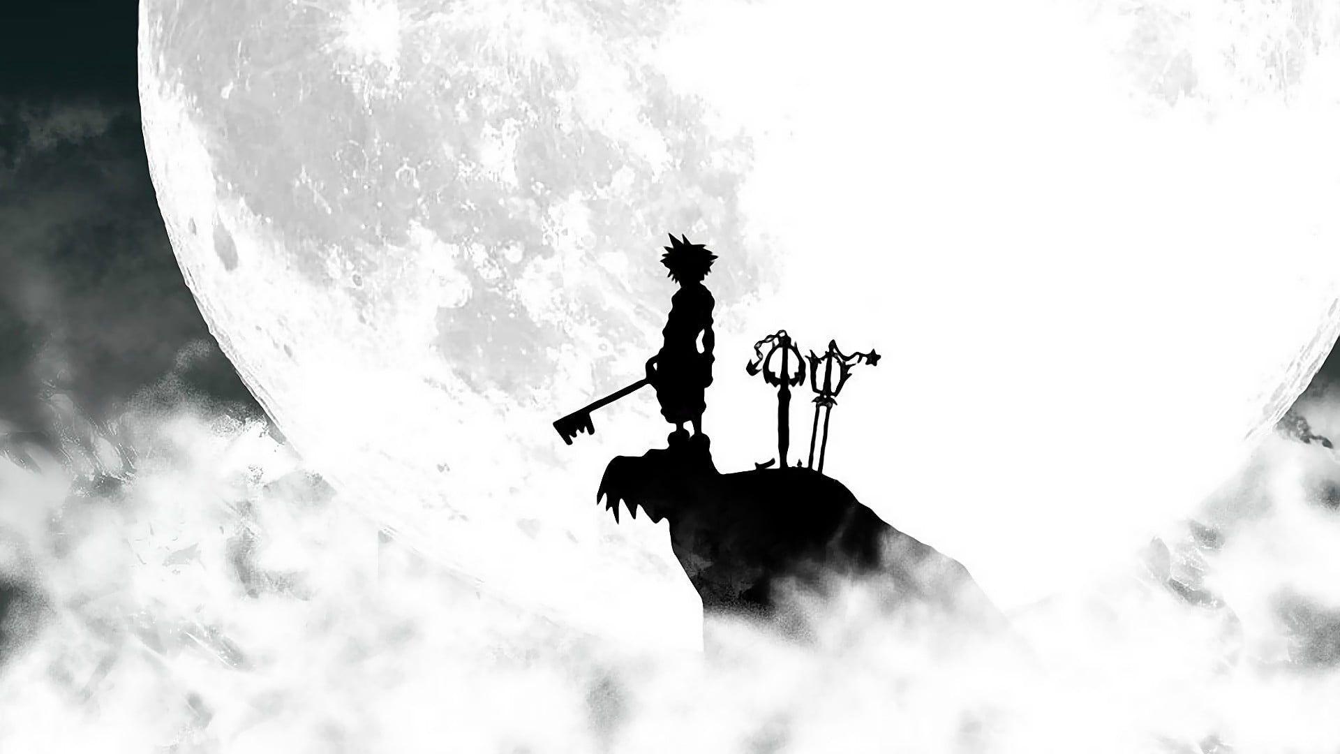 Silhouette Of Sora From Kingdom Hearts Anime Kingdom Hearts Video Games Sora Kingdom Hearts Key Kingdom Hearts Wallpaper Kingdom Hearts Sora Kingdom Hearts