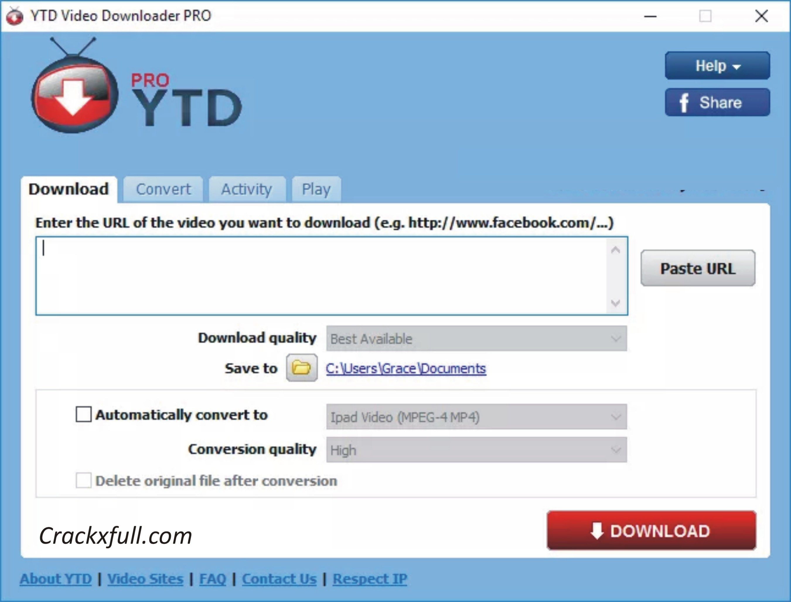 YTD Video Downloader Pro 5 8 Crack & Serial Key Download