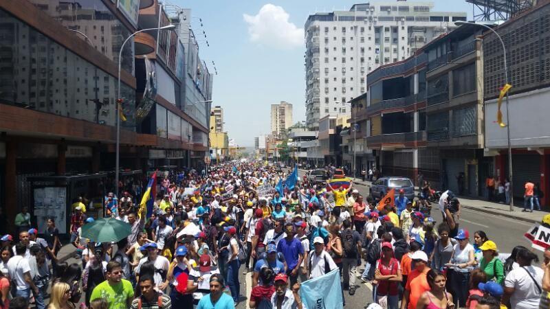 Marcha En El Estado Aragua Foto La Patilla Fotos Gobierno Venezuela