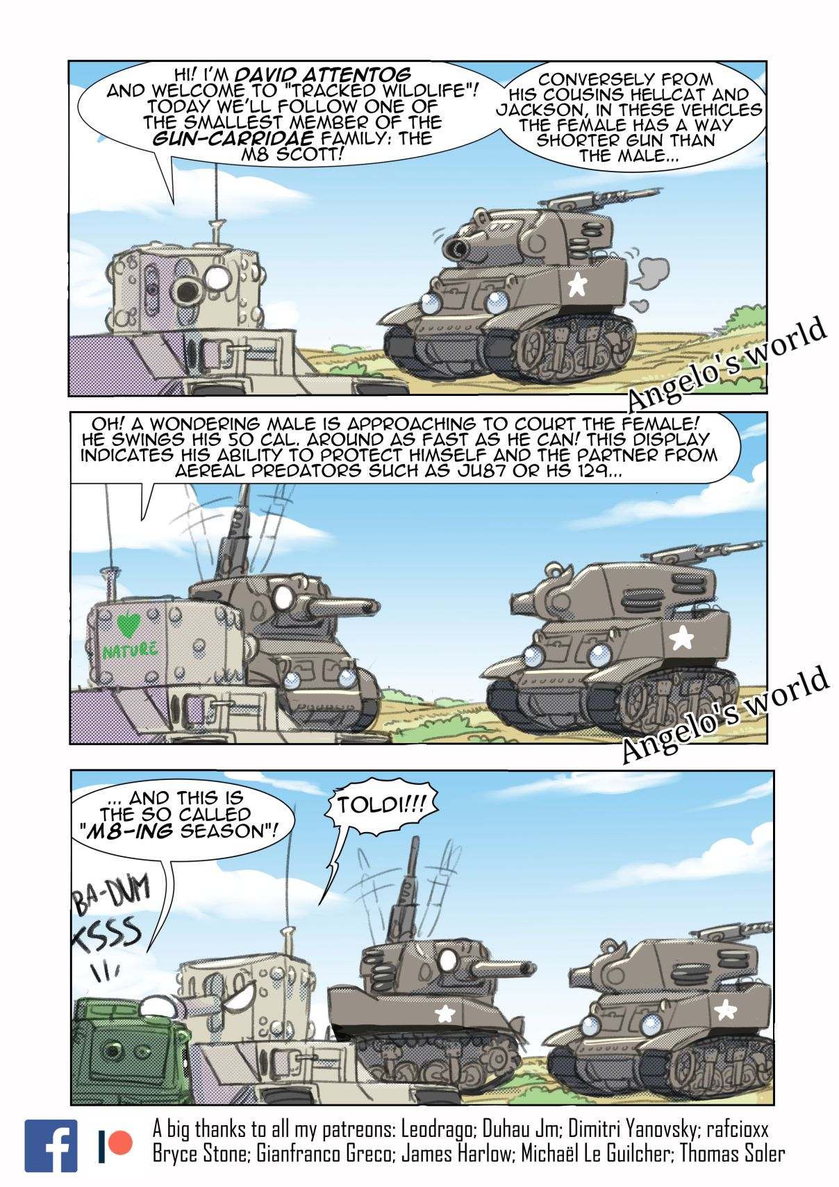 Hetzer & Friends strips in 2020 (With images)   Army memes, Military humor, Funny tanks