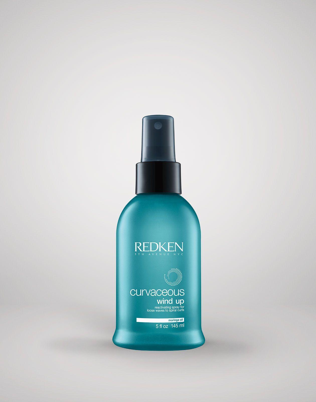 REDKEN Curvaceous Wind Up Reactivating Spray Redken