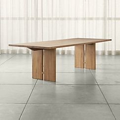 View Larger Image Of Monarch 108 Natural Solid Walnut Dining