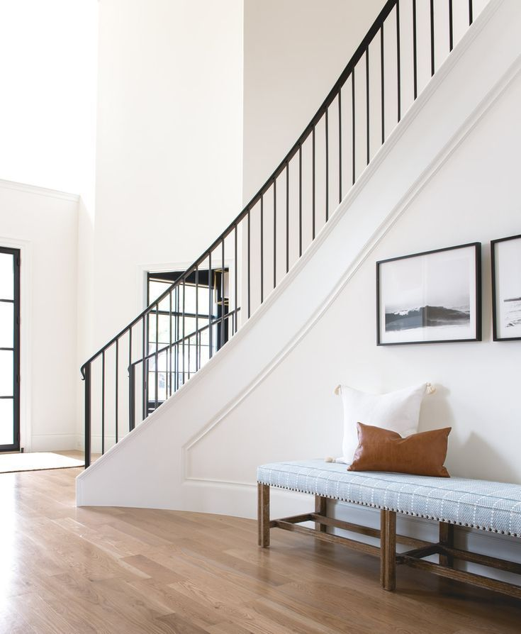 40 Trending Modern Staircase Design Ideas And Stair Handrails: Stairway Decorating, Entry Stairs