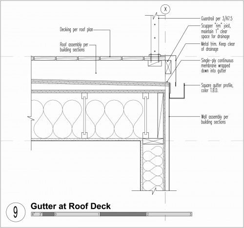 Modern Gutters Downspouts Build Blog Roofing Modern Roof Design Roof Architecture