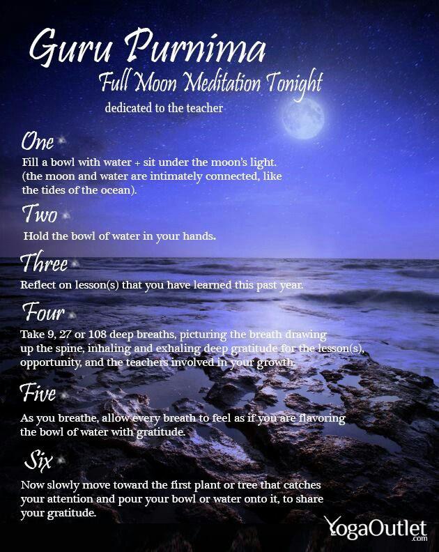 Full Moon Gratitude Ceremony & Meditation... ♥♥ beautiful ...