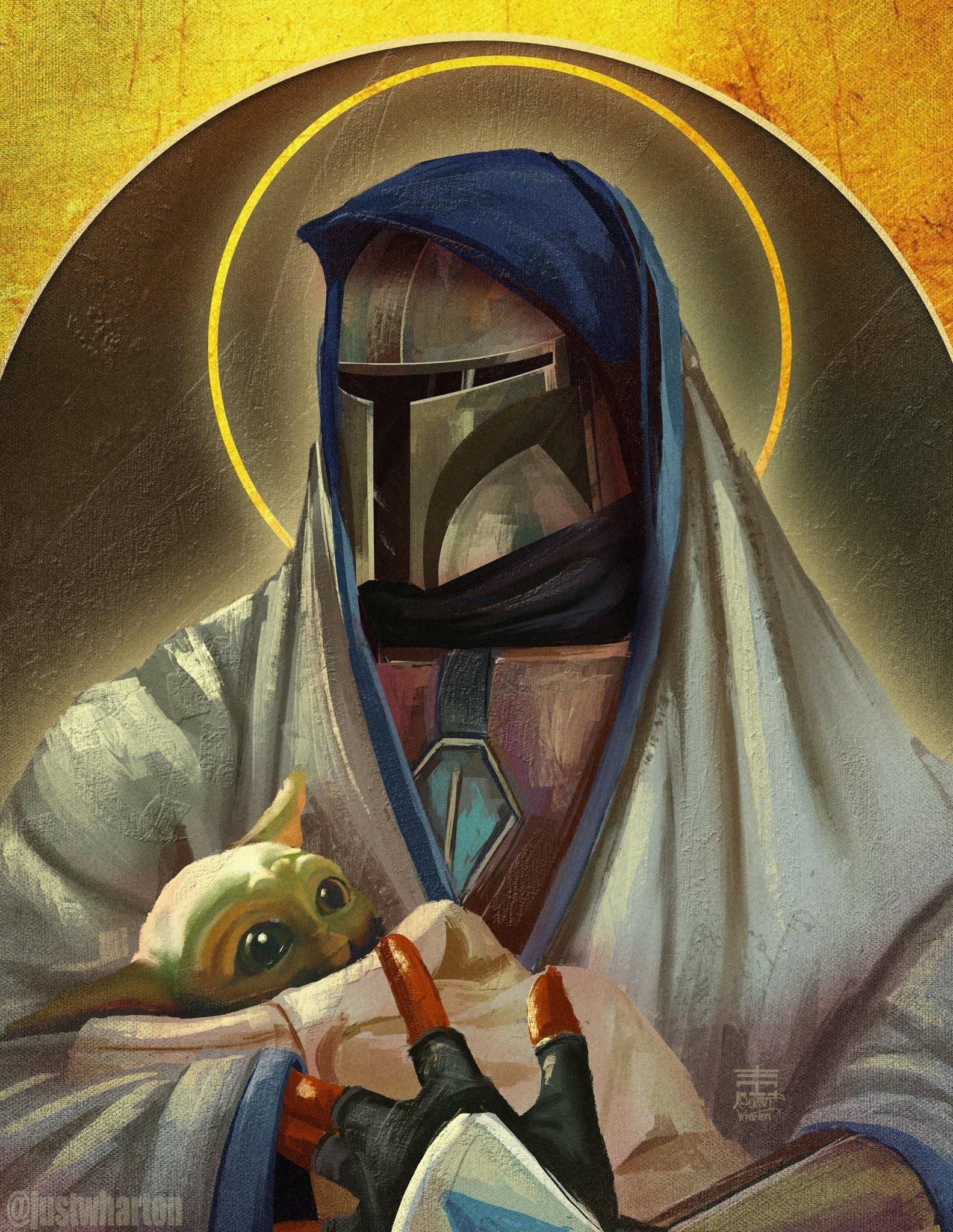 In the theme of star wars everything this has been one of