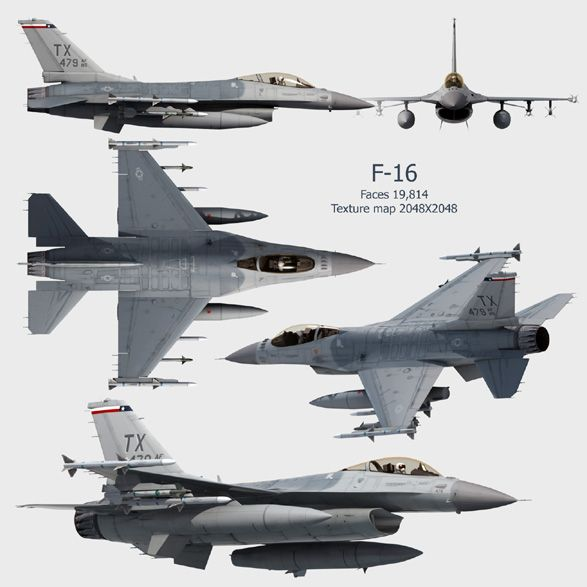 Lockheed Martin (General Dynamics) F-16 Fighting Falcon