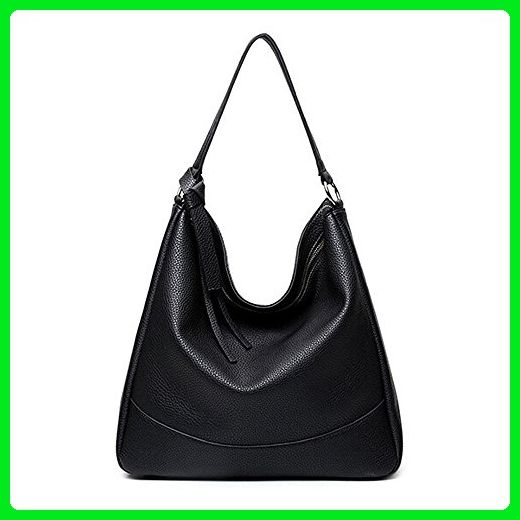 Women Hobo Handbags Shoulder Bag PU Leather Soft Simple Designer Large  Capacity Tote for Ladies e5ee936603746