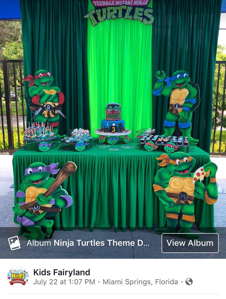 Pin By Vane Romo On Ninja Turtles Ninja Turtles Birthday Party Ninja Turtle Theme Party Ninja Turtle Birthday