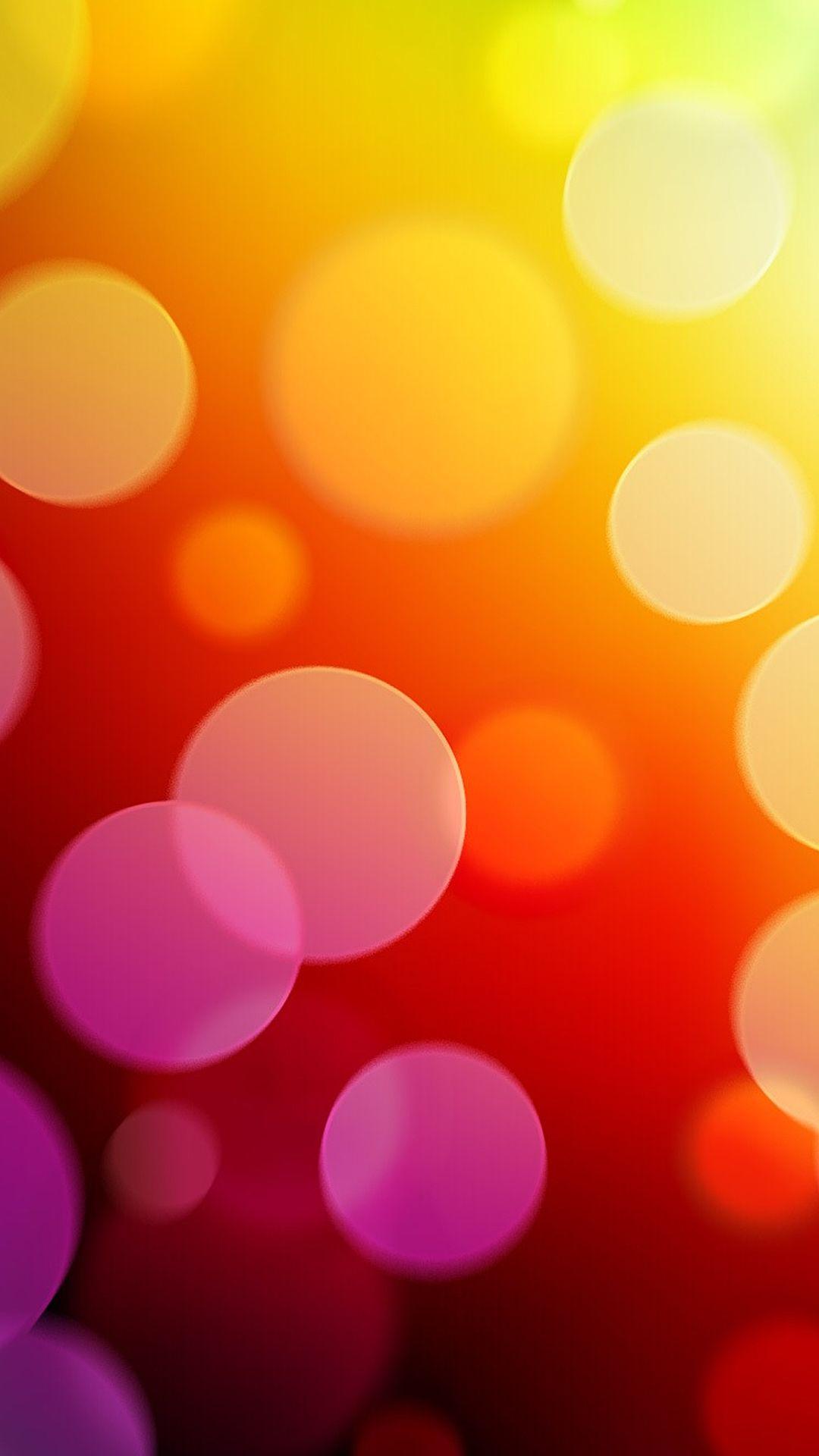 Orange Bubbles Iphone 6 Plus Wallpaper Iphone Wallpaper Orange Iphone 5s Wallpaper Wallpaper Iphone Cute
