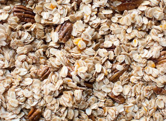 cranberry orange pecan granola