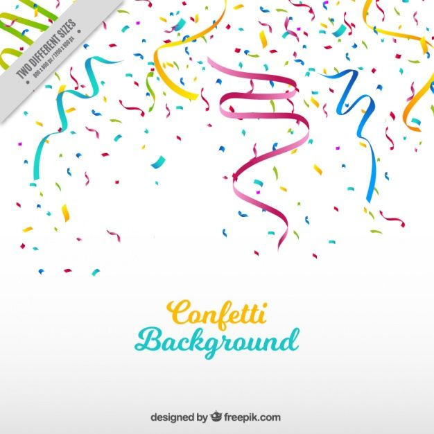 party background with streamer