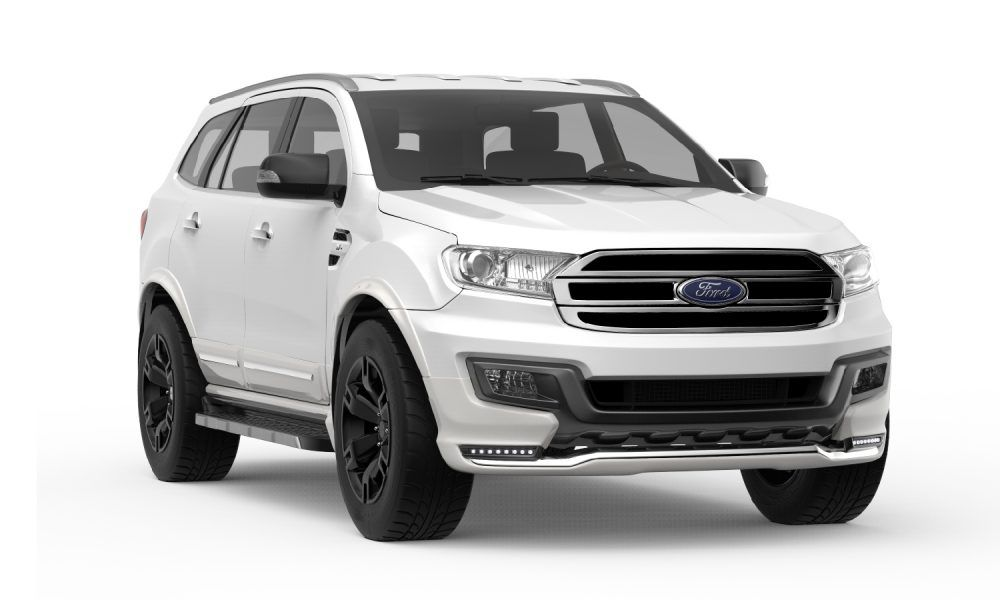 Ford Everest Titanium Best 4wd Suv The Ford Everest 5 Door Suv Is A Variant Of The Ford Ranger Four Door Pickup Truck An Impressive Ford Ranger Ford Ford Ev