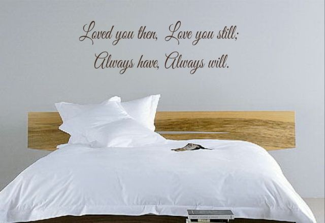 Bedroom Quotes Vinyl Wall Home Lettering Words Put The Writing On