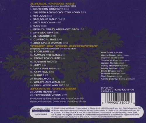 Area Code 615 / Trip in the Country    http://www.musicdownloadsstore.com/area-code-615-trip-in-the-country/