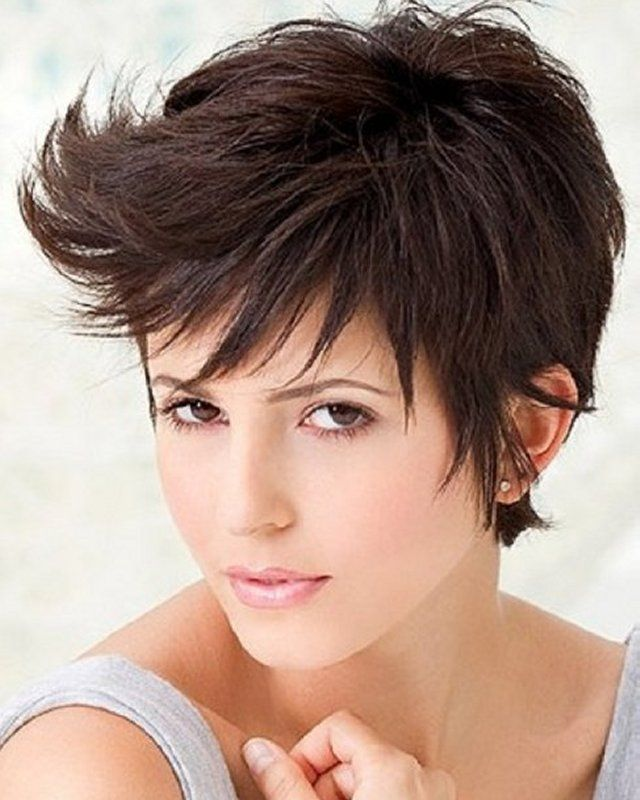 Admirable Short Hairstyles For Women And Fine Hair Hairstyles On Pinterest Short Hairstyles For Black Women Fulllsitofus