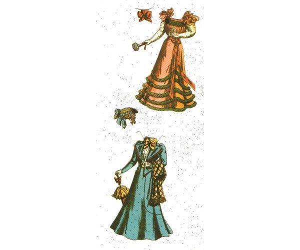 Påklædningsdukker, Disse er reproduktioner fra begyndelsen