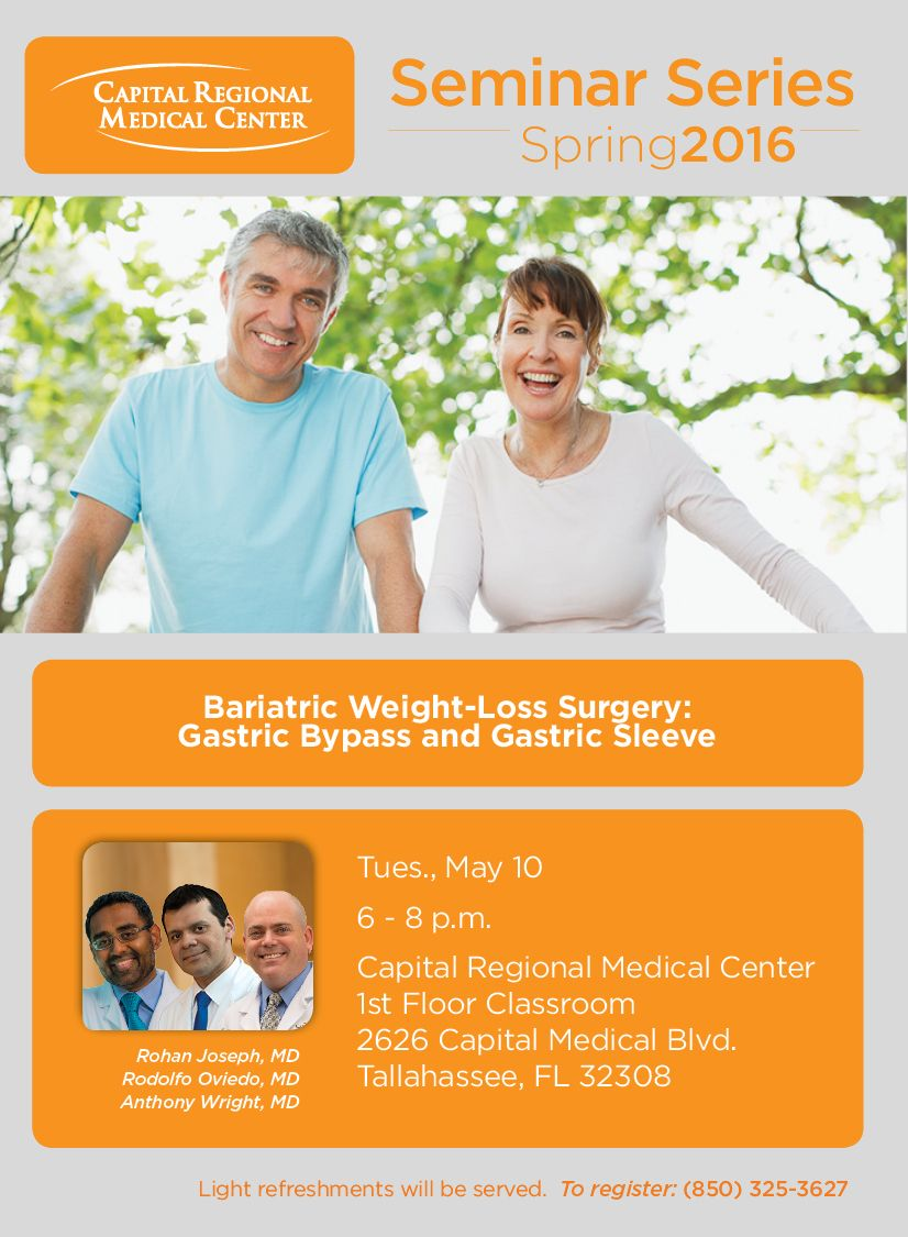 Attend Our Informational Seminar For Bariatric Surgery On May 10th
