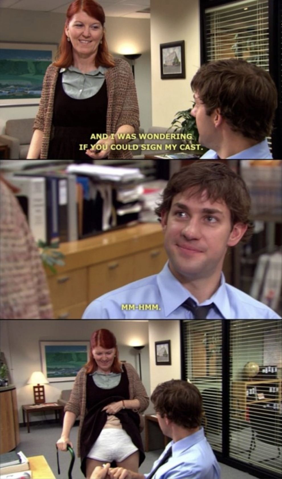 When She Took Advantage Of Michael Hitting Her With His Car 23 Office Quotes From Meredith That Will The Office Characters Meredith The Office Office Quotes