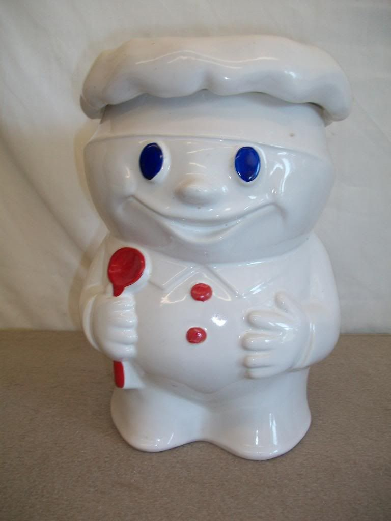 Mccoy Cookie Jar Values Awesome Sometimes Rare And Hard To Find The Pillsbury Mccoy Cookie Jar Is A Inspiration Design