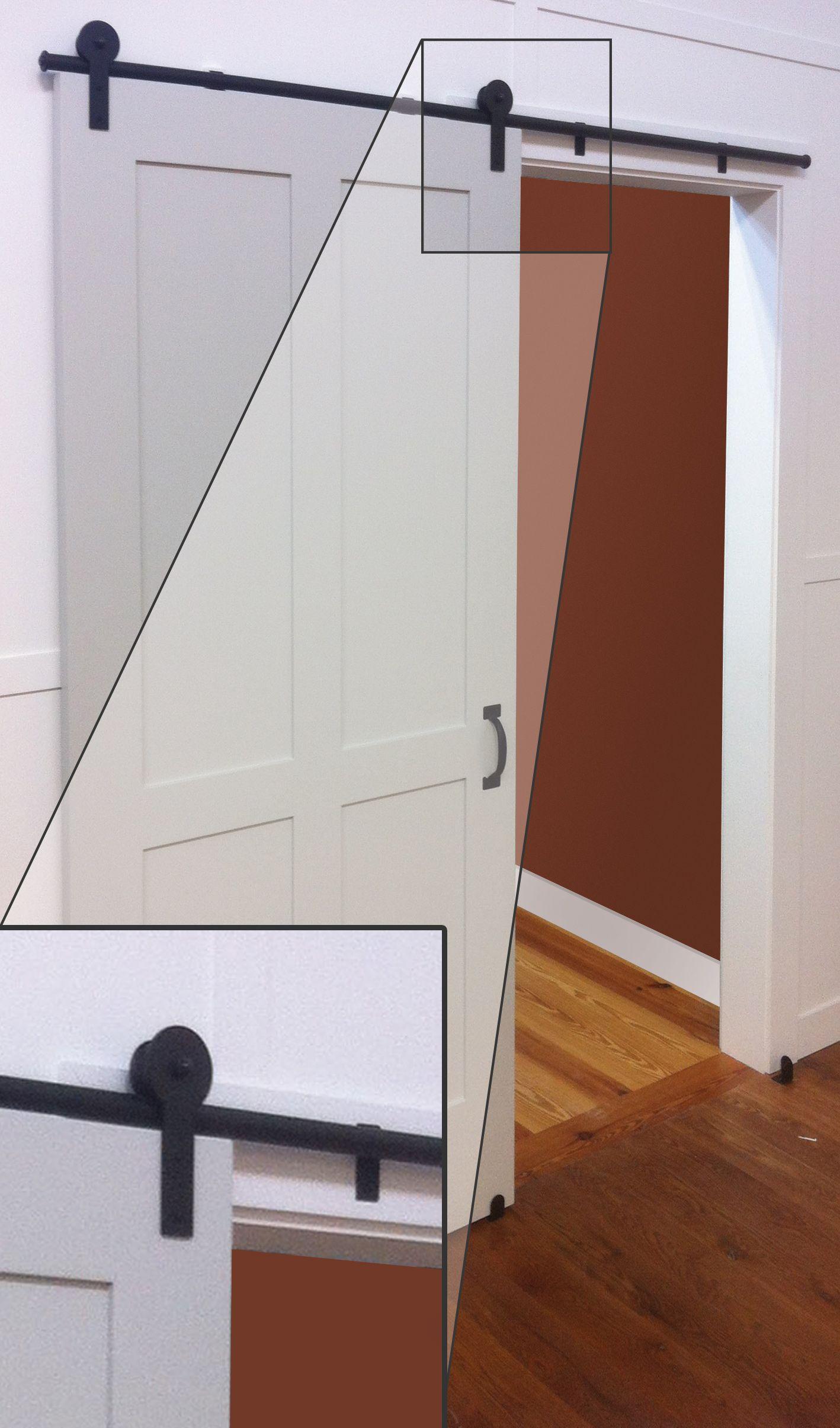 Change Up The Look Of Your Interior Doors! QuietGlide™ Rolling Door  Hardware Transforms Any