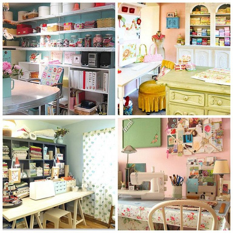 Como decorar cuarto de costura more sewing rooms and - Como decorar una habitacion ...