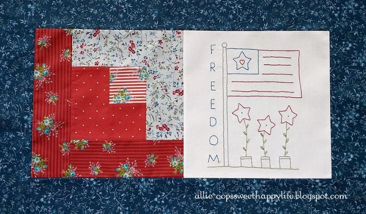 Free Quilt Pattern: Freedom | I Sew Free | Quilts Only | Pinterest
