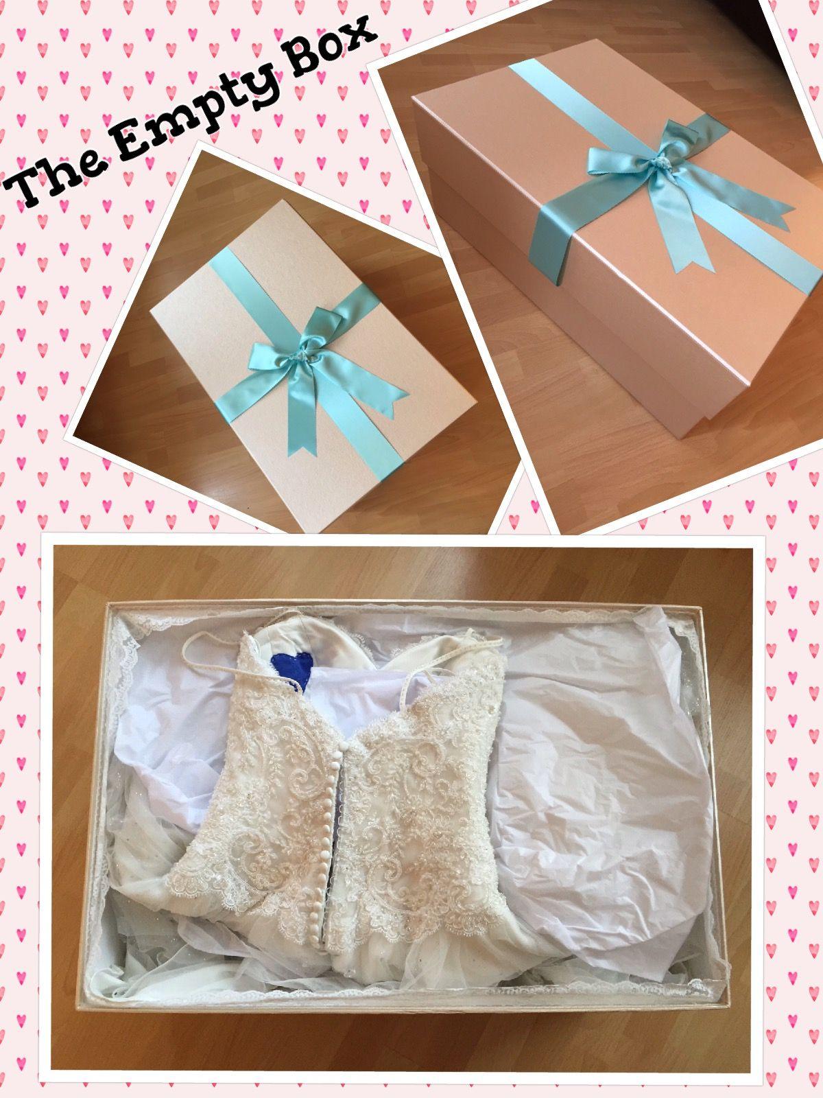 Perfect wedding-dress-storage, box from The Empty Box Company ...