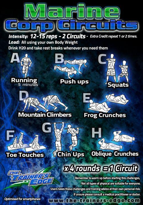 Circuit Training Workouts On Pinterest Training Exercises Circuit