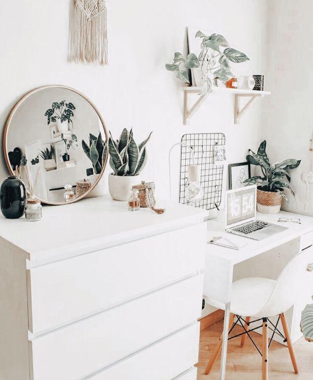Bedroom school / desk areas for spring of 2021