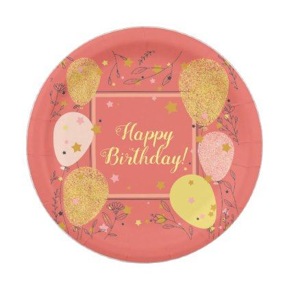 custom illustrated birthday party paper plates - birthday diy gift present custom ideas  sc 1 st  Pinterest & custom illustrated birthday party paper plates - birthday diy gift ...