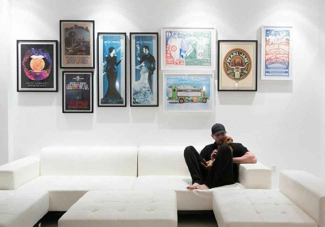 The Ultimate Gig Poster Gallery Wall Concert Poster Decor Concert Poster Wall Gallery Wall